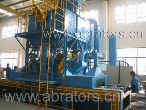 Aluminum Alloy Wheel Hub Shot Blasting Machine - Abrator