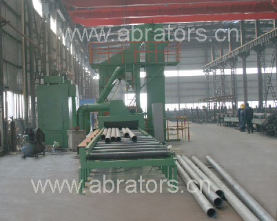 LCM1500 Steel Pipe and Plate Shot-blasting Machine, Abrator