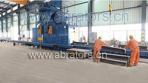 Steel Structure Derusting Machine - LCH1218