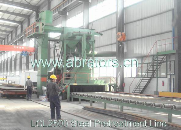 2.5M Steel Plate Pretreatment Line