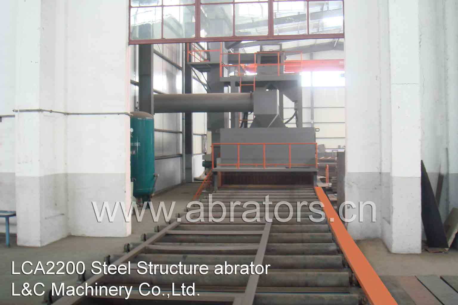 Steel Plate Shot Blasting Machine Line - LCA2200