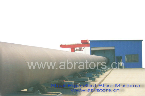 LCP1800 Pipe Shot Blasting Machine