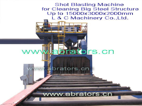 LCA3020 Shot-Blasting Machine to Clean Truck Chassis
